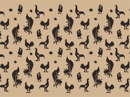 Animal pattern - chicken