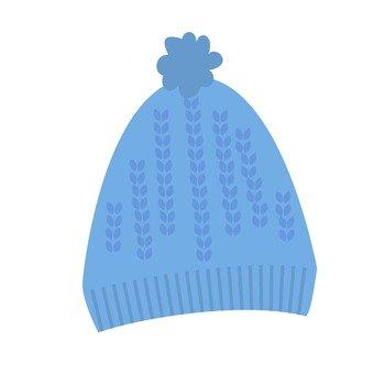 Knit Cap (Blue)