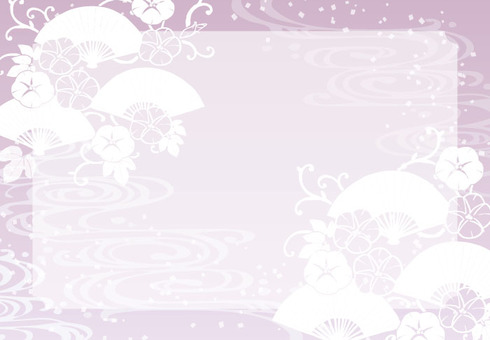 Background (with handle 2A · 桜 枠)