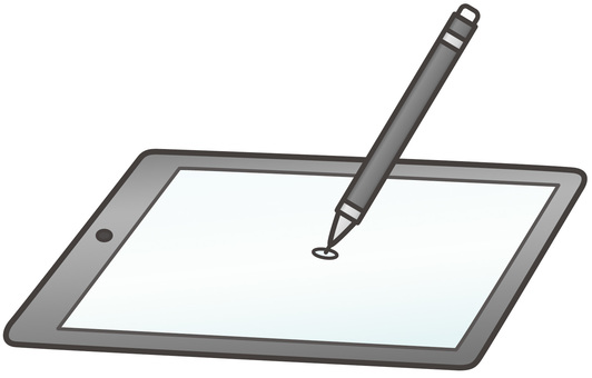 Tablet and touch pen
