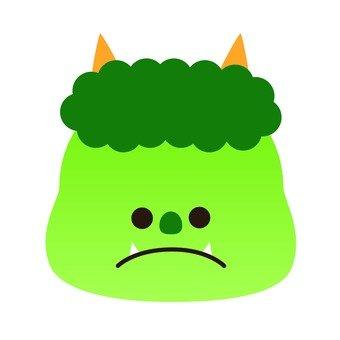 Yellow green demon