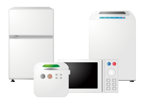 Household appliance set