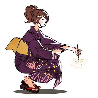 Yukata ladies