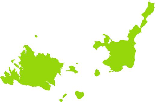 西表島_石垣島_黃綠色