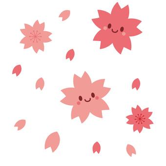 Sakura character cute personification