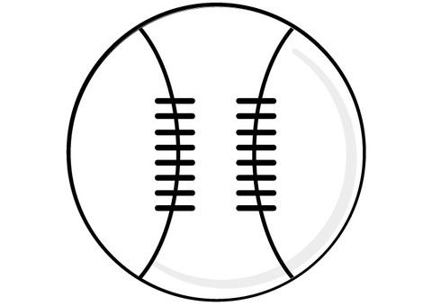 Baseball ball baseball