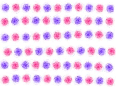Hand-drawn Feng Shui (Pink × Purple)