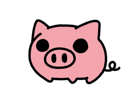 Mini Pig peach