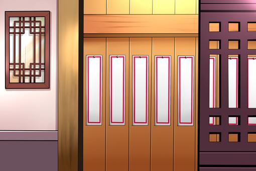 Chinese restaurant background menus not displayed