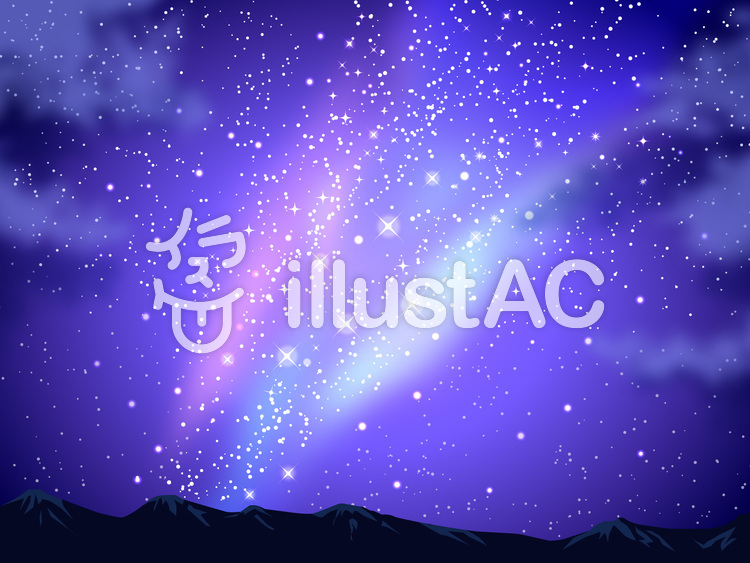 Stars in the Night Sky Religious Worship Background | Worship Backgrounds