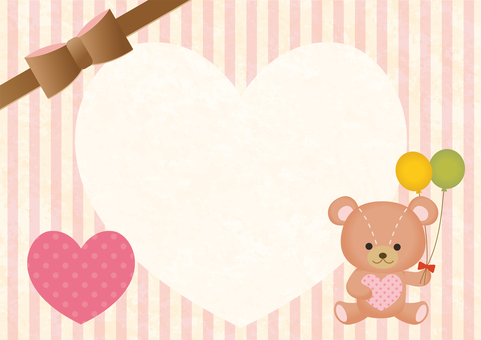 Message card bear 2