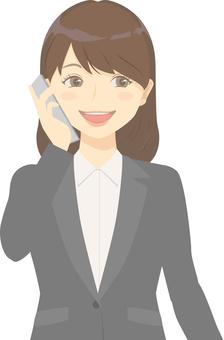 商務女裝·電話/智能手機