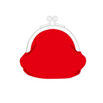 Red bag purse