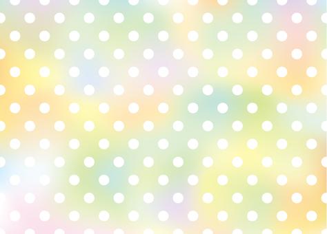Colorful dot back
