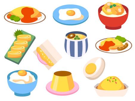 Tamagoya cuisine set