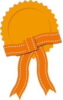 Medal Orange 2