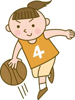 Çocuklar / basketbol
