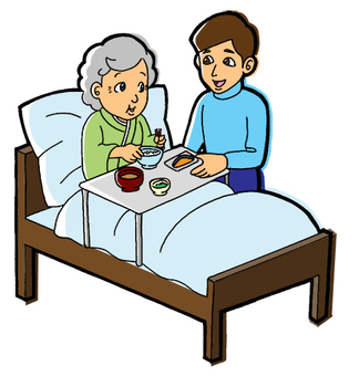Hospitalized meals