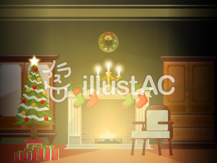 クリスマス 風景イラスト No 1264929無料イラストならイラストac