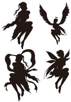 Goddess silhouette 3