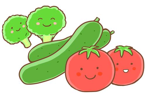 Salad vegetables 2