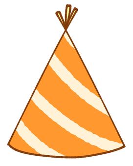 Party hat (orange)