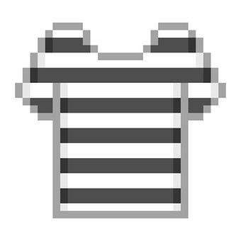 Border T-shirt Black