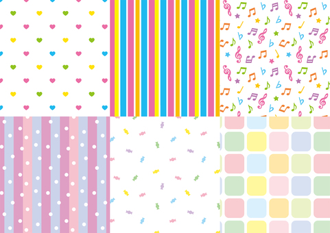 Pop and cute and easy to use pattern