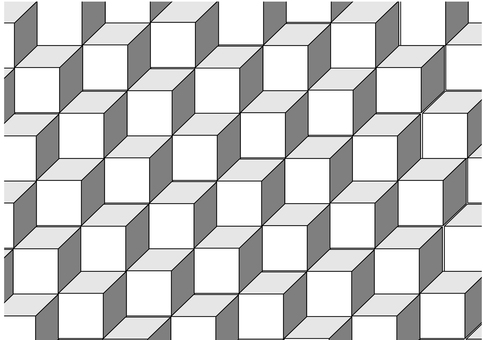 Geometric pattern _ square _ solid 1 large