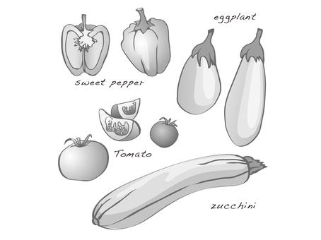 Solanaceae vegetables