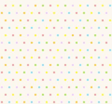 カラフルパターン - 四角S