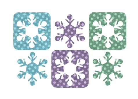 Snowflake clipping wind