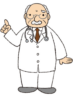 Doctor (troubled · pointing)