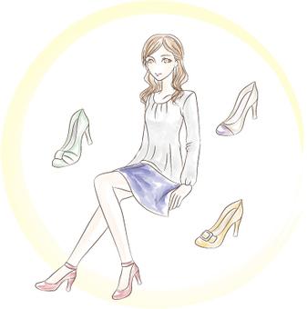 Women's illustration 2