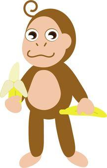猴子用香蕉