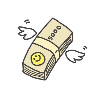 Money 5000 bills