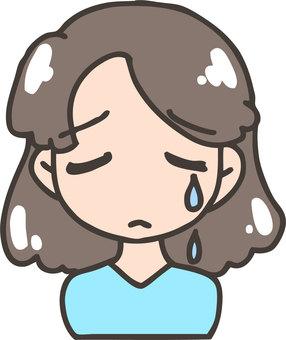Women (crying)