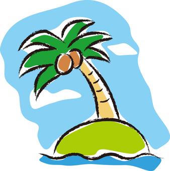Palm tree 01 - color 03