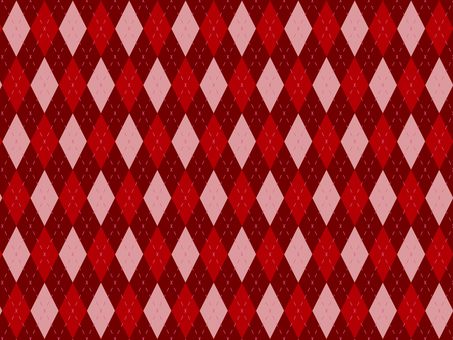 Large Argyle check red