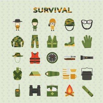 Illustration of survival