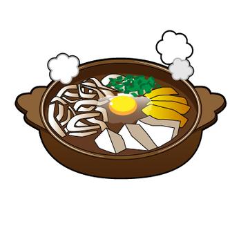 Nagoya specialty - Miso stewed udon
