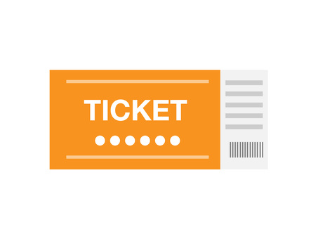 Ticket (Orange · 1 sheet)