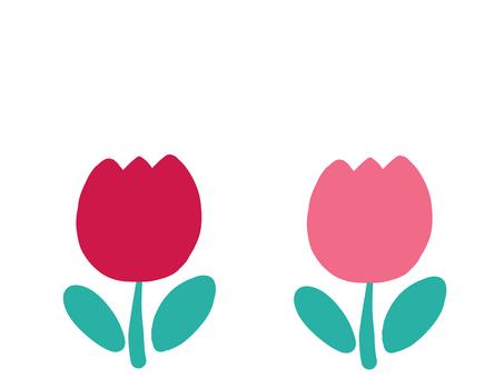 Flower material 001