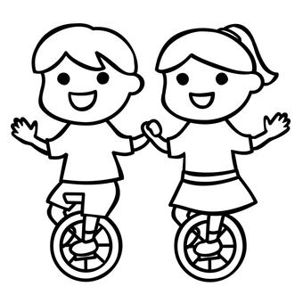 Unicycle Kids 1