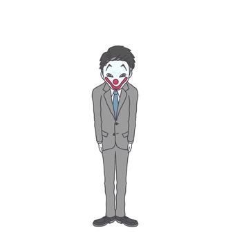 Clown salaryman