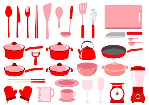 Kitchenware red