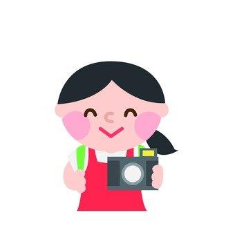 사진의 여자