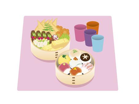 Ohanami lunch box