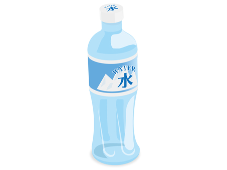 One natural water plastic bottle summer summer measures