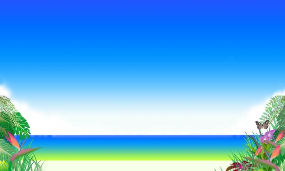 Tropical sea and sky 3